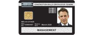 Carduri CSCS - Pop Corporation - Card Negru CSCS UK