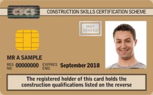 Carduri CSCS - Pop Corporation - Card Auriu CSCS UK