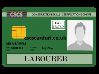 Carduri CSCS - Card Verde CSCS/ Green Card - Cursuri NVQ